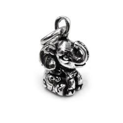Ciondolo Elefante Baby in Argento