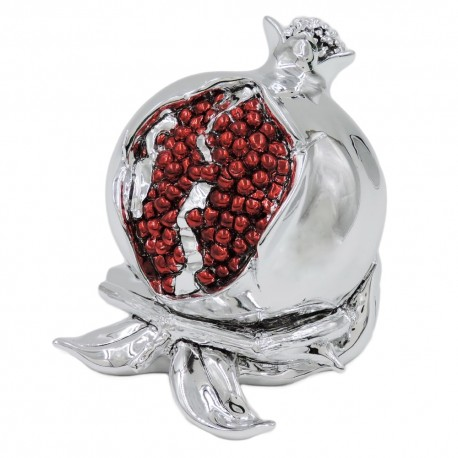 Resin Pomegranate Sculpture