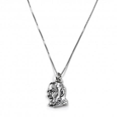Saint Pio Pendant Necklace