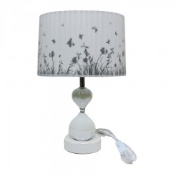 Ceramic Abat Jour Table Lamp Butterflies by Mauro Ferretti