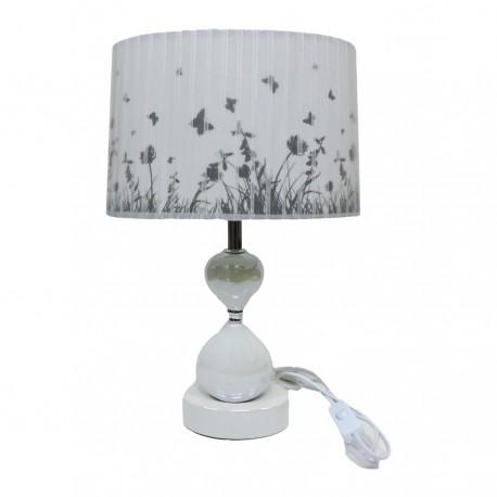 Ceramic Abat Jour Table Lamp Butterflies By Mauro Ferretti M B