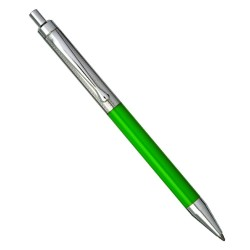 925 Sterling Silver Green Ballpoint Pen
