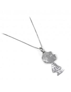 Linus Van Pelt 925 Sterling Silver Necklace