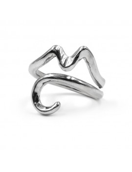 925 Sterling Silver Vesuvius Ring