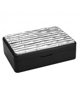 925 Sterling Silver Bamboo Jewelry Box