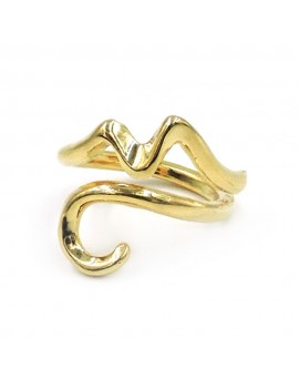 Gold Plated Sterling Silver Gulf of Naples Ring