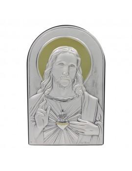 925 Sterling Silver Heart of Jesus