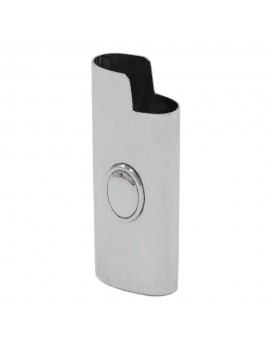 925 Sterling Silver Lighter Holder with Oval