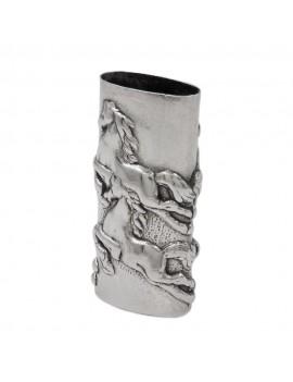925 Sterling Silver Horses Lighter Holder