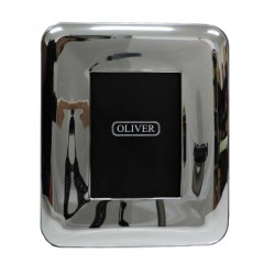 Picture Frame Glossy Round Wide Band by Oliver cm 13x18