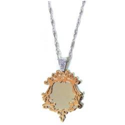 Collana con  Specchio Incantato in Argento 925