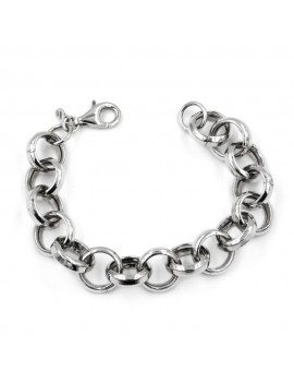 925 Sterling Silver Round Chain Bracelet