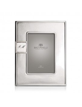 925 Sterling Silver Photo Frame 4x6 with Customizable Magnet