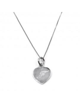 Customizable 925 Sterling Silver Heart Necklace
