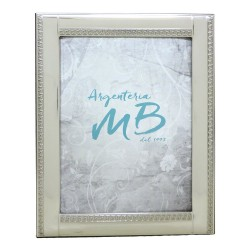 Silver Picture Frame Glossy Empire Style 5x7