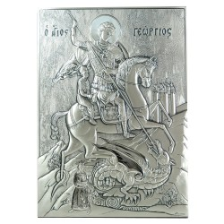 925 Sterling Silver Icon Saint George
