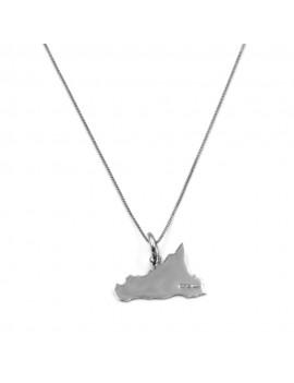 Customizable Sicily Pendant Necklace
