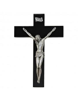925 Sterling Silver Crucifix Sculpture