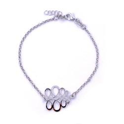 925 Sterling Silver Arabesque Bracelet