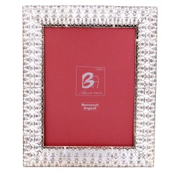 Sterling Silver Picture Frame 7 x 9 Embroidery