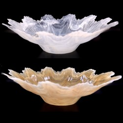 Murano Glass Alabaster Centerpiece by Tammaro Home