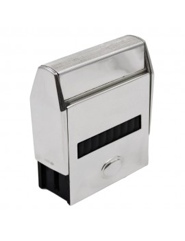 Sterling Silver Self-Inking Stamp with Oval
