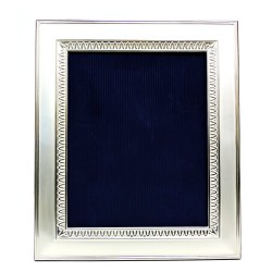 Silver Picture Frame Satin Empire Style cm 20x25