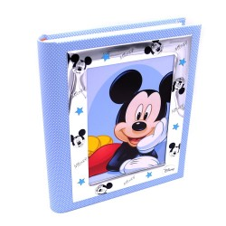 Blue Photo Album Mickey Mouse Disney Baby by Valenti Argenti