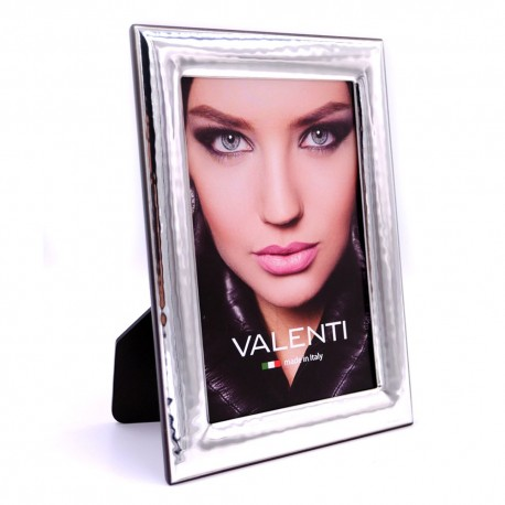 Picture Frame Glossy Hammered by Valenti Argenti cm 10x15