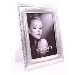 Picture Frame Glossy Rope Edge 7x9 White Back