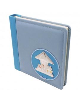 Blue Photo Album with Carousel