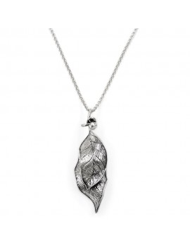 925 Sterling Silver Leaves Necklace
