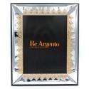 Cornice Portafoto Lucida Corone Oro cm 18x24 in Argento