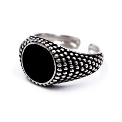 925 Sterling Silver Chevalier Ring