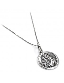 Saint Anthony Sterling Silver Necklace