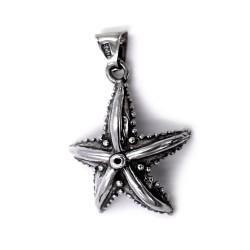 Ciondolo Stella di Mare in Argento 800 Brunito