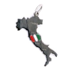 Solid Silver Italy Pendant