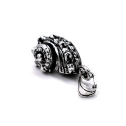 Sterling Silver Sea Slug Pendant
