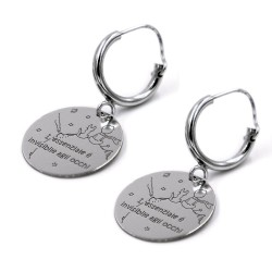 Little Prince 925 Sterling Silver Earrings