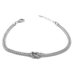 925 Sterling Silver Reef Knot Bracelet
