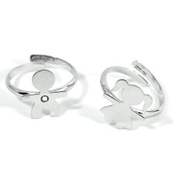 925 Sterling Silver Baby Ring