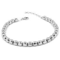 925 Sterling Silver Nuggets Bracelet