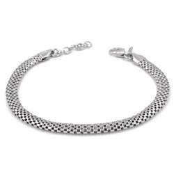 925 Sterling Silver Milan Mesh Bracelet