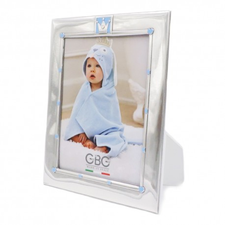 Silver Picture Frame 5 x 7 Baby Prince