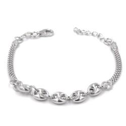 925 Sterling Silver Nautical Style Bracelet