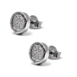 925 Sterling Silver Love Stud Earrings