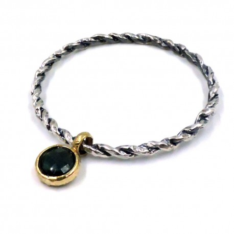 925 Sterling Silver Braided Bangle Bracelet
