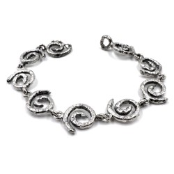 Bracciale Spirale in Argento 925