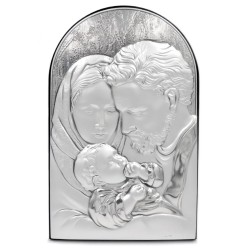 925 Sterling Silver Holy Family 4,9'' x 7,6''