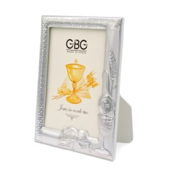 First Holy Communion Silver Picture Frame 3,5 x 5
